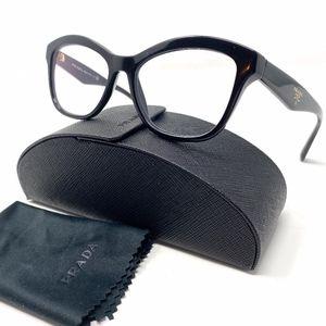 Prada Black Cat Eye Eyeglasses